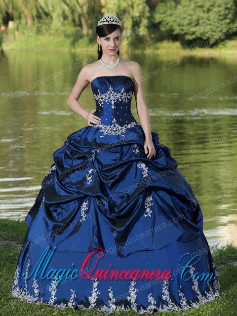 Navy Blue Quinceanera Dresses | Navy Blue 15 Dresses - Magic ...