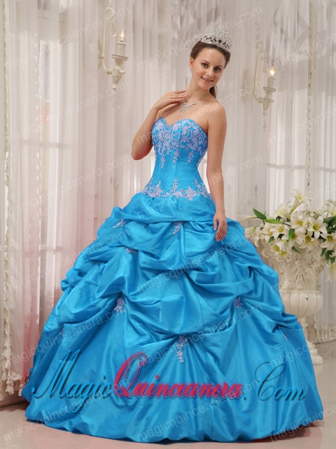 Baby Blue Quinceanera Dresses | Baby Blue 15 Dresses - Magic ...