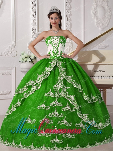 Spring Green Quinceanera Dresses | Spring Green 15 Dresses - Magic ...