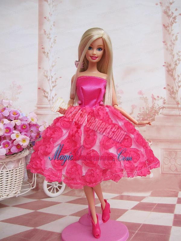 Prom Simple Elegant Barbie Doll Dresses - Magic Quinceanera,Newest Style