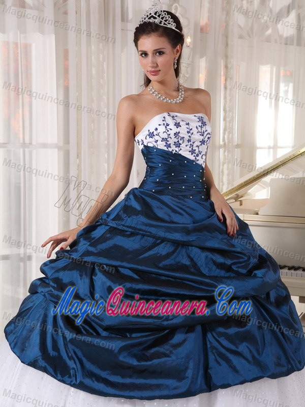Dark Blue Quinceanera Dresses 2014 - Missy Dress