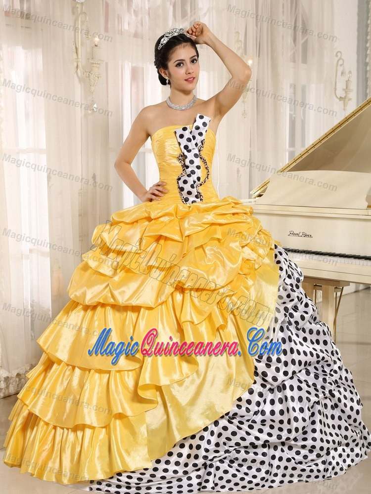 Yellow Quinceanera Dresses | Yellow 15 Dresses - Magic Quinceanera