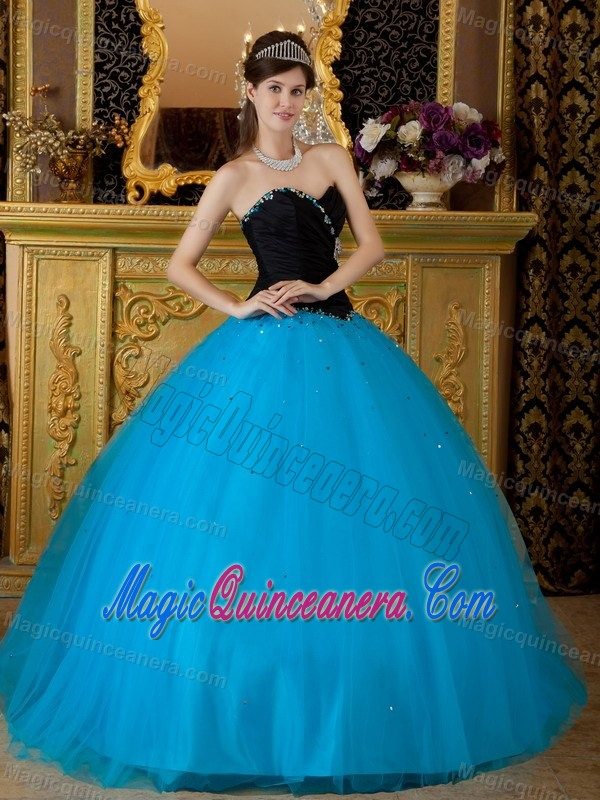 Dress With a Taffeta Black