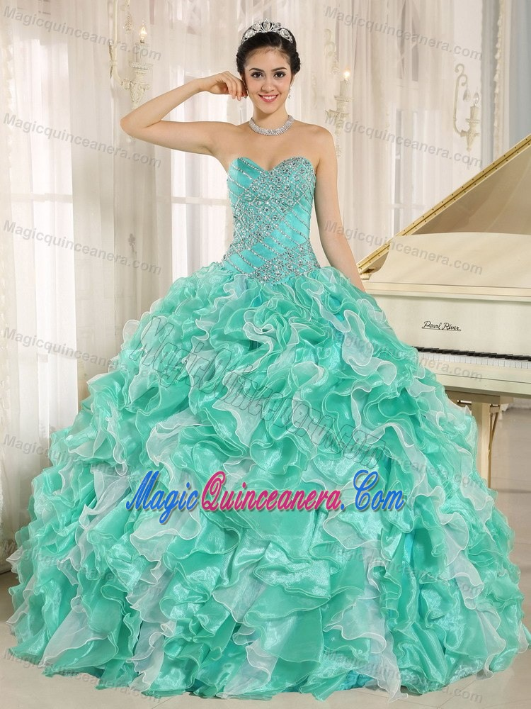 Apple Green Quinceanera Dresses | Apple Green 15 Dresses - Magic ...