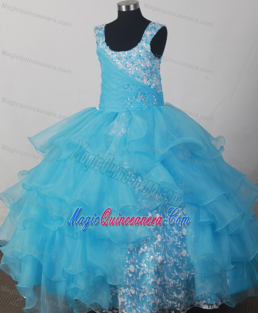 Ball Gown Pageant Dresses For Kids
