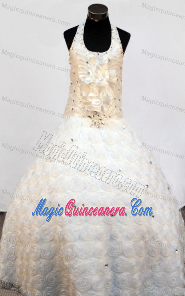 Girl Pageant Dress Fabric