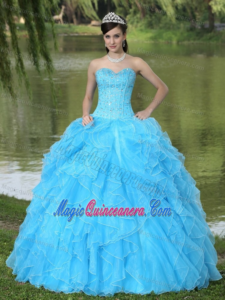 Aqua Blue Quinceanera Dresses | Aqua Blue 15 Dresses - Magic ...