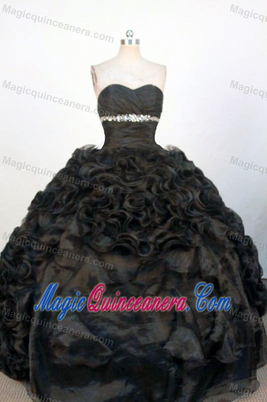 Black Sweetheart Beaded Sweet 15 Dresses in Bedfordshire