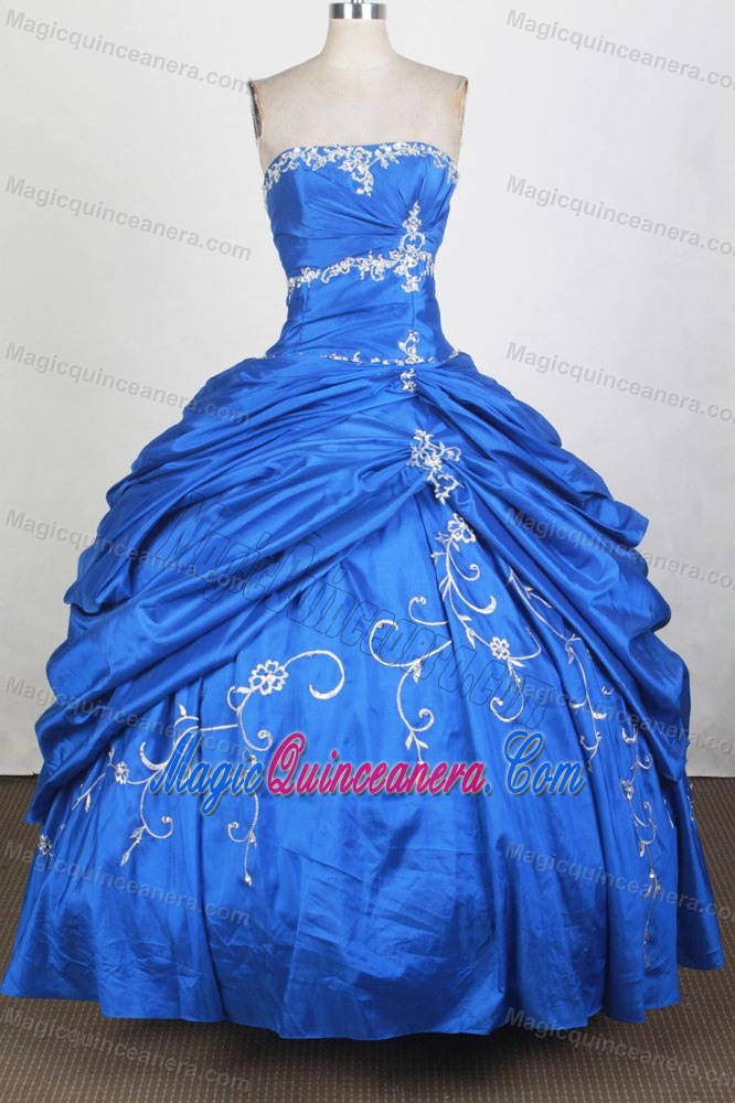 98037afb01 Royal Blue with Pick Ups 2014 Sweet 16 Dress on Sale - Magic Quinceanera