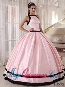 Colourful Ball Gown Bateau Floor-length Satin Perfect Quinceanera Dresses