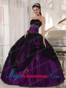 Perfect Quinceanera Dresses In Colourful Strapless Floor-length Beading