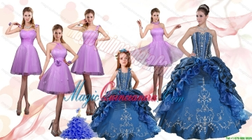 Ruffles and Beading Sweetheart Quinceanera Dress and Lilac Short Prom Dresses and Cute Halter Top Litter Girl Dress