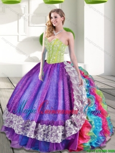 Multi-color Quinceanera Dresses | Multi-color 15 Dresses - Magic ...