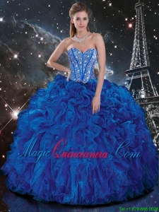 Royal Blue Quinceanera Dresses | Royal Blue 15 Dresses - Magic ...