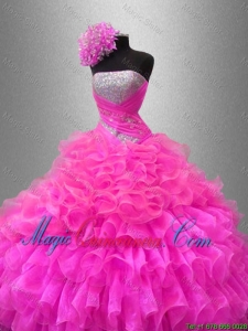 Fall Ball Gown New Style Quinceanera Dresses with Sequins