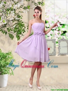 Classical A Line Appliques Dama Dresses in Lavender