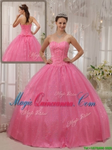 Classical Ball Gown Sweetheart Beading Quinceanera Dresses