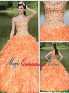 Exquisite Beading and Ruffles Layered Perfect Quinceanera Dresses