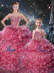 Fall Fashionable Ball Gown 2016 Princesita with Quinceanera Dresses with Beading