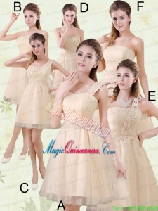2015 The Brand New Style Mini Length Mother of the Bride Dresses