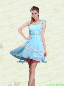 A Line Straps Mother Dress for Quinceanera with Ruching and Bowknot