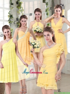 Discount Fashionable Decorated Mother Dress for Quinceanera in Chiffon