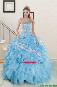 Brand new Beading Apple Green Quinceanera Dresses