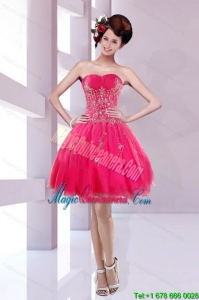 Discount Sweetheart Dama Dress with Embroidery