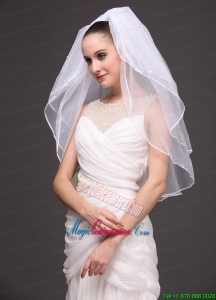 Three-Tier Tulle Bridal Veil On Sale