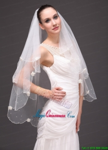 Two-tier Tulle Graceful Wedding Veil