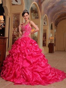 Hot Pink Quinceanera Dresses  Hot Pink 15 Dresses - Magic Quinceanera