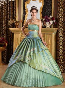 Brand New Ruched Appliques La Quinceanera Dresses Pleat in Newcastle