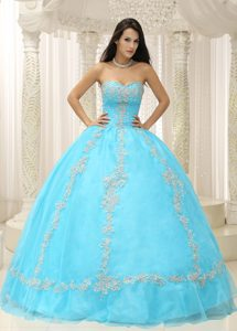 the Brand New Sweetheart Quinceanera Dresses Beading and Appliques