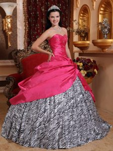 Perfect Ruched and Beading Quinceanera Dresses for Zebra Scottsdale