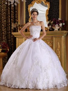 White Quinceanera Dresses | White 15 Dresses - Magic Quinceanera