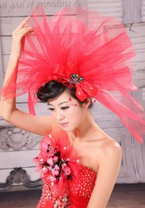 Perfect Beading Net Yarn Bridal Fascinators