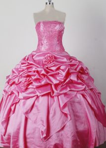 Luxurious Girl Pageant Dress with Beading Appliques and Flowers