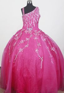 Brand new Strap Beaded Kentucky Little Girl Pageant Dress in 2013