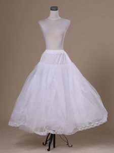 White Hot Selling Tulle Ankle-length Petticoat