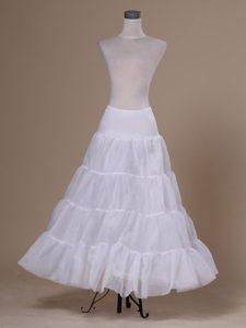White Organza Hot Selling Floor-length Petticoat