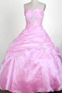 Lovely Pink Sweetheart Quinceanera Dress for Sale in Connecticut